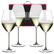Riedel - Veritas Champagne Glass Pay for 3 Get 4 Pack