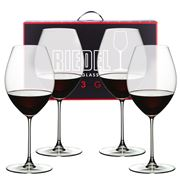 Riedel - Veritas Old World Syrah Pay for 3 Get 4 Pack