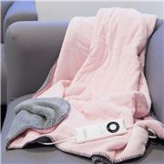 Sunbeam - Feel Perfect Snug & Cosy Fleece Heated Throw