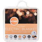 Bambi - Moodmaker Queen Sized Cotton Electric Blanket