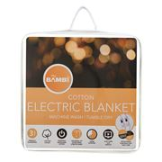 Bambi - Moodmaker King Size Cotton Electric Blanket
