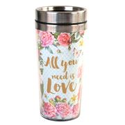 Art In Motion - All You Need Is Love Travel Mug