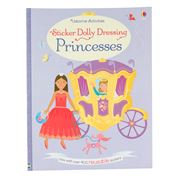 Book - Sticker Dolly Dressing Princesses