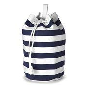 Retro Kitchen - Stripy Blue Canvas Bag