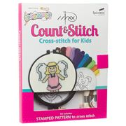 Spicebox - Count & Stitch Cross-stitch for Kids Activity Kit