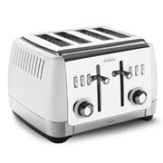 Sunbeam - London Collection White Four Slice Toaster