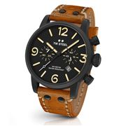 TW Steel - Maverick MS33 Sienna & Black Chronograph