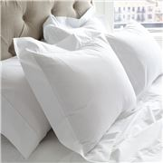 Matouk - Sierra Fitted Sheet White Queen