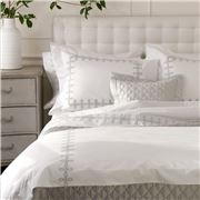 Matouk - Gordian Knot Flat Sheet Silver Full Queen