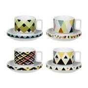 Magpie - Viva Espresso Cup & Saucer Set 4pce
