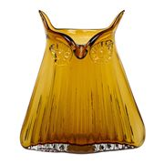 Magpie - The Modern Home Vern Owl Large Amber Vase