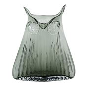 Magpie - The Modern Home Vern Owl Large Smoke Vase
