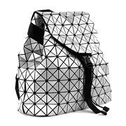 Condura - Nova Shiny Silver Backpack