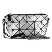 Condura - Nova Shiny Silver Cross Body Bag