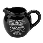 Charlotte Watson - Black Cream Jug