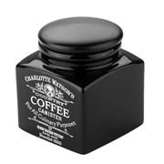 Charlotte Watson - Black Coffee Storage Canister