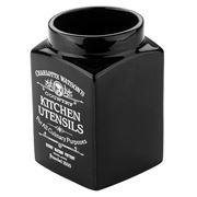 Charlotte Watson - Black Utensil Jar
