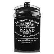 Charlotte Watson - Black Bread Crock