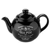 Charlotte Watson - Large Black Teapot