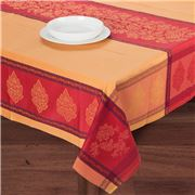 French Linen - Caprice Terr Jacq Treated T/Cloth 160x300cm