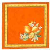 French Linen - Citron Orange Napkin