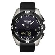 Tissot - T-Touch Expert Solar Black Leather Strap Watch