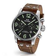 TW Steel - Maverick MS14 Black & Green 48mm Chronograph