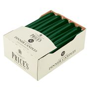 Price's Candles - Tapered Green Dinner Candle 50pk