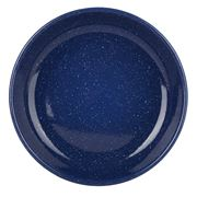 Falcon - Blue Enamel Pasta Plate 24cm