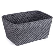 Rattan - Blackwash Medium Storage Basket