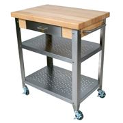 Boos - Cucina Elegante Kitchen Cart Maple