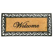 Kenware - Coir & Rubber Windsor Welcome Doormat 55x120cm