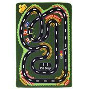 Kenware - Kids' Racetrack Play Rug 100x150cm