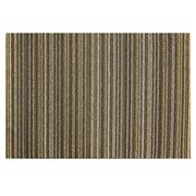 Chilewich - Skinny Stripe Latte Indoor/Outdoor Mat Medium