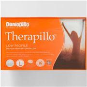 Dunlopillo - Therapillo Low Profile Memory Foam Pillow