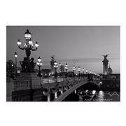 PopArt - Bridge B/W 150x100cm