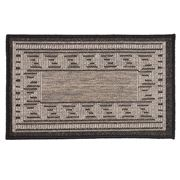 Kenware - Caprice Black Greek Key Doormat 45x75cm