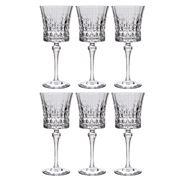 Cristal D'Arques - Lady Diamond Wine Set 270ml/6pce