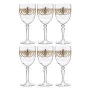 Cristal D'Arques - Dampierre Gold Wine Glass Set 260ml/6pce
