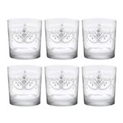 Cristal D'Arques - Dampierre Double Old Fashioned Set 6pce