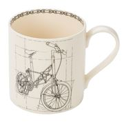 Big Tomato Company - Age of Bicycles Suspension Bike Mug
