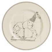 Big Tomato Company - Artist Studio Horse Plate