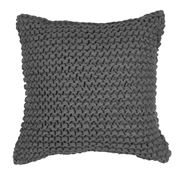 Logan & Mason - Kai Charcoal Square Cushion