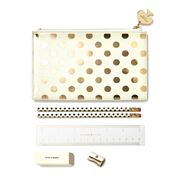 Kate Spade - Gold Dots Pencil Pouch