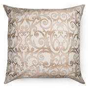 Ann Gish - Flourish White Desert European Pillowcase