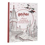 Book - Harry Potter Magical Places Character Colouring Book