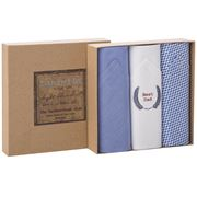 Tamielle - Men's Best Dad Handkerchief Set 3pce