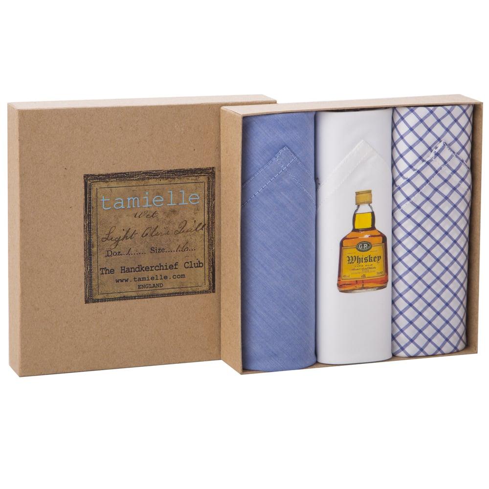 NEW Tamielle Men/'s Whisky Handkerchief