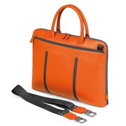 Fedon - Web Slim Orange & Grey Laptop Bag
