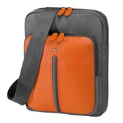 Fedon - Web Micro Grey & Orange Cross Body Bag